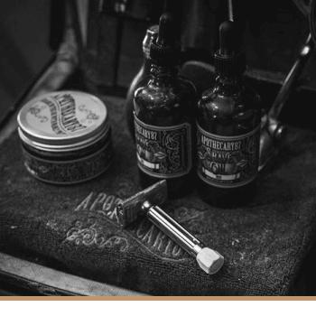 Produtos de Barbear Apothecary87
