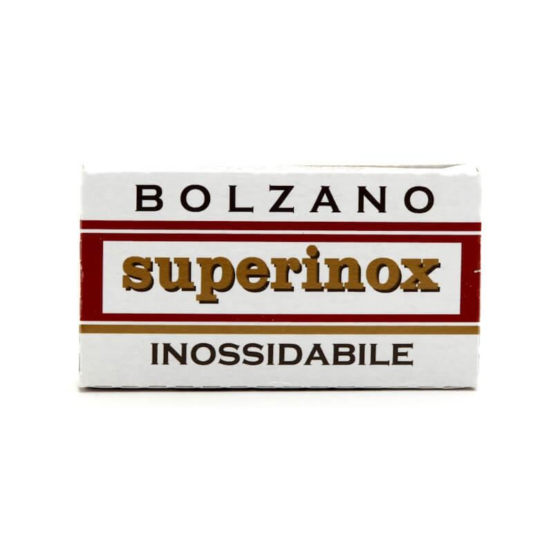 5X - Bolzano Superinox Double Edge Razor Blades