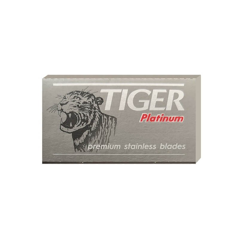 5X - Tiger Platinum Double Edge Safety Razor Blades