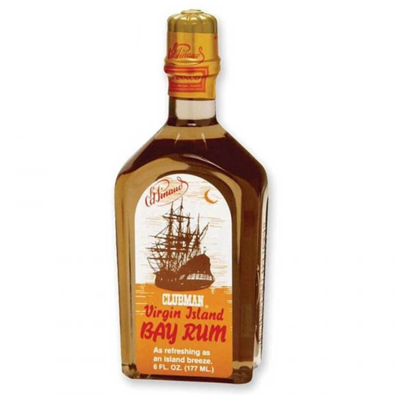 Bay Rum After Shave Virgin Island Clubman Pinaud 177ml