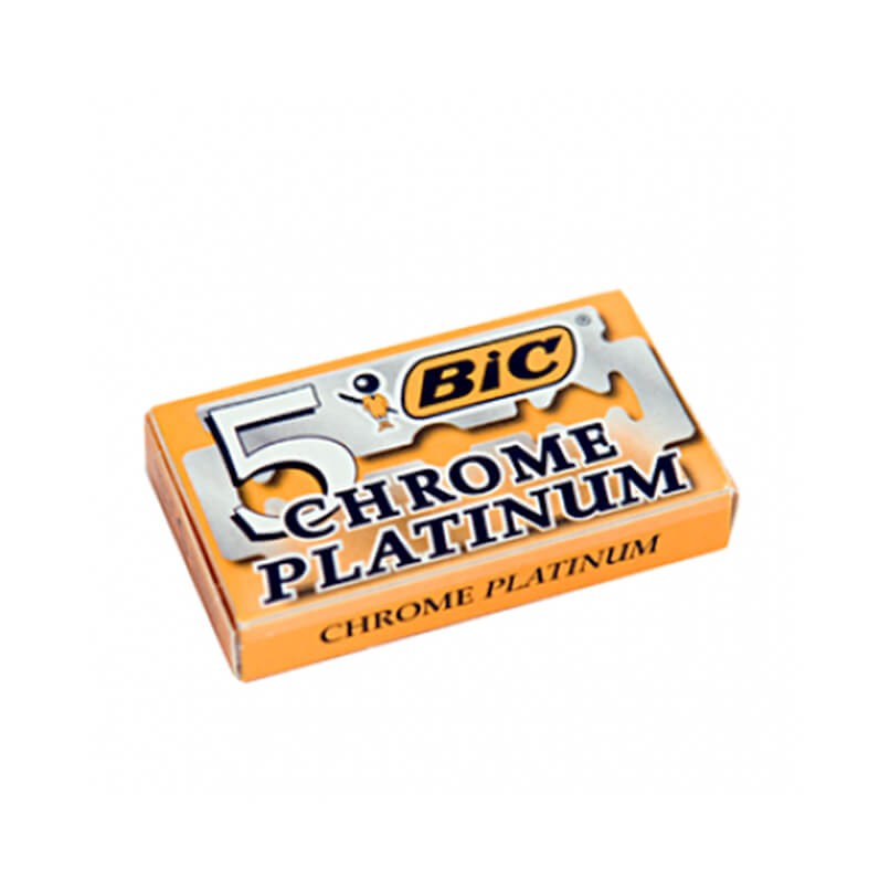 BIC Chrome Platinum X5