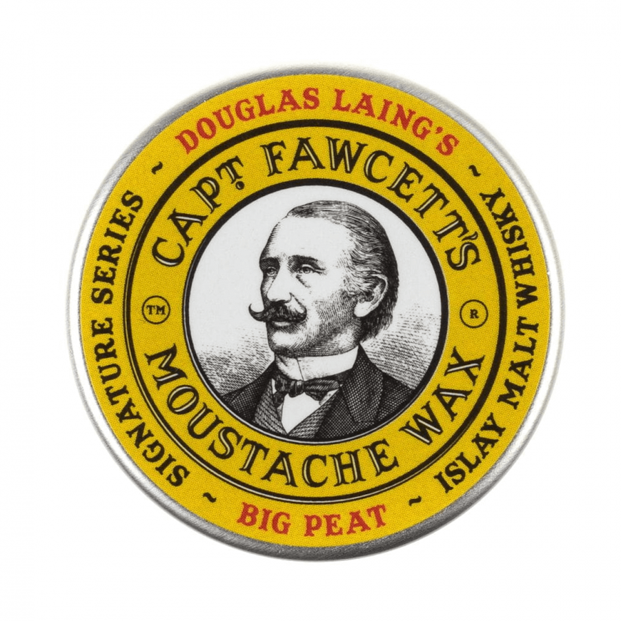 Captain Fawcett Big Peat Moustache Wax 15ml