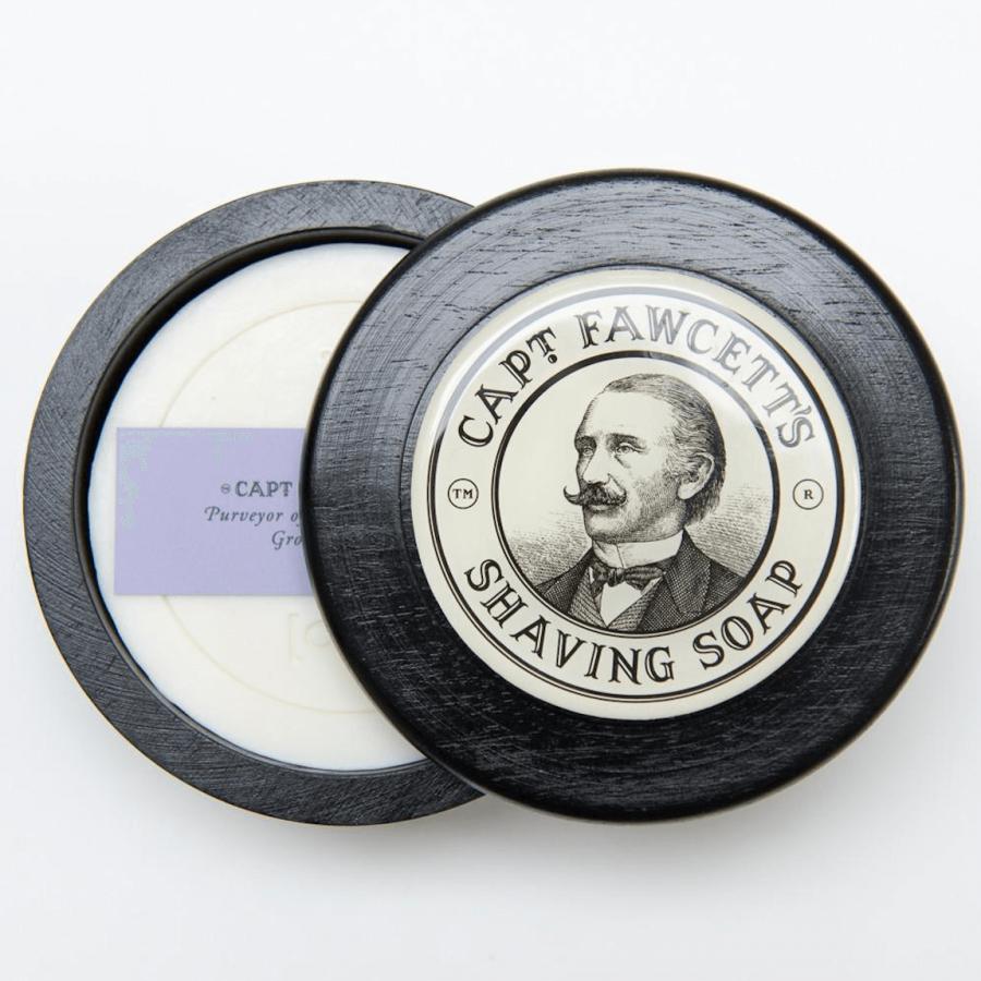 Captain Fawcett Luxurious Shaving Soap 110g
