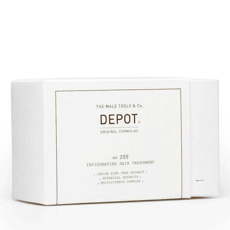 DEPOT No.205 Invigorating Hair Treatment 10x5ml