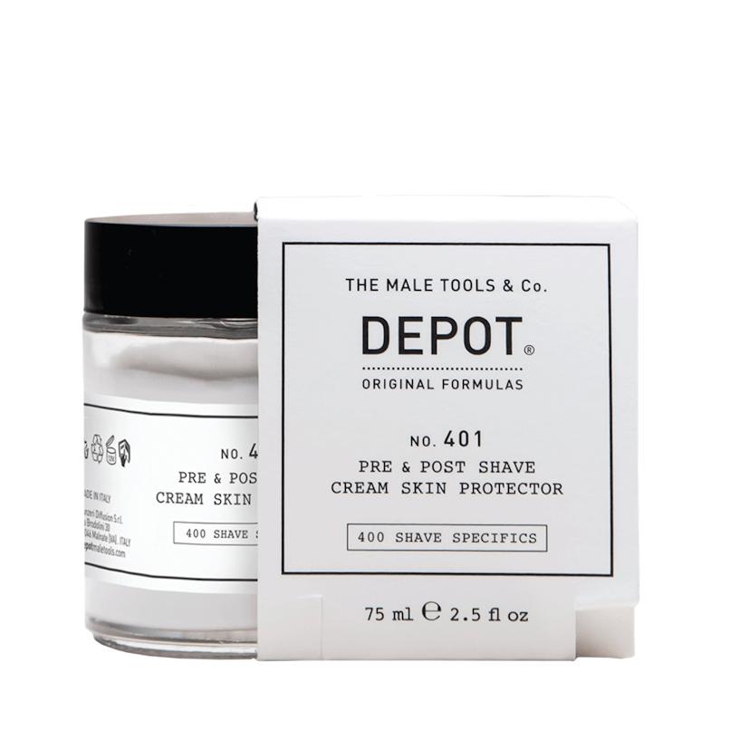 DEPOT No.401 Pre & Post Shave Cream 75ml