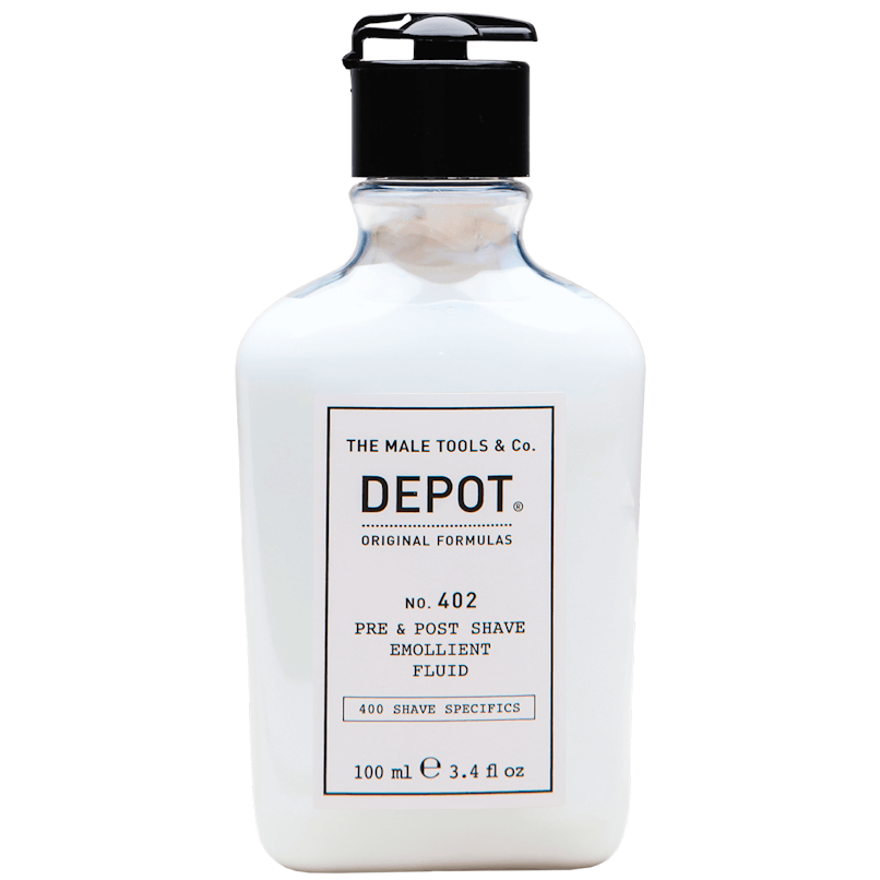 DEPOT No.402 Pre & Post Shave Emollient Fluid 100ml