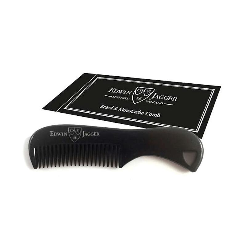 Edwin Jagger Black Beard & Moustache Comb BMC06