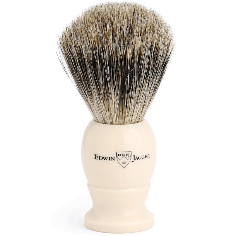 Edwin Jagger Ivory Best Badger M 1EJ877