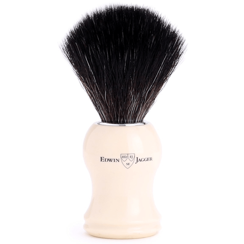 Edwin Jagger Ivory Black Synthetic 21P37