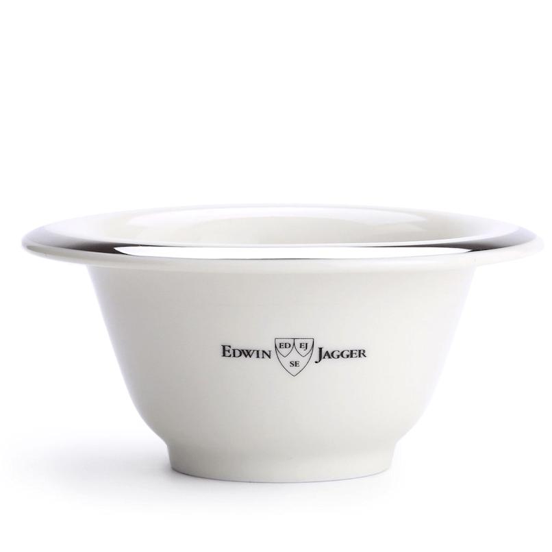 Edwin Jagger Ivory Porcelain Shaving Bowl