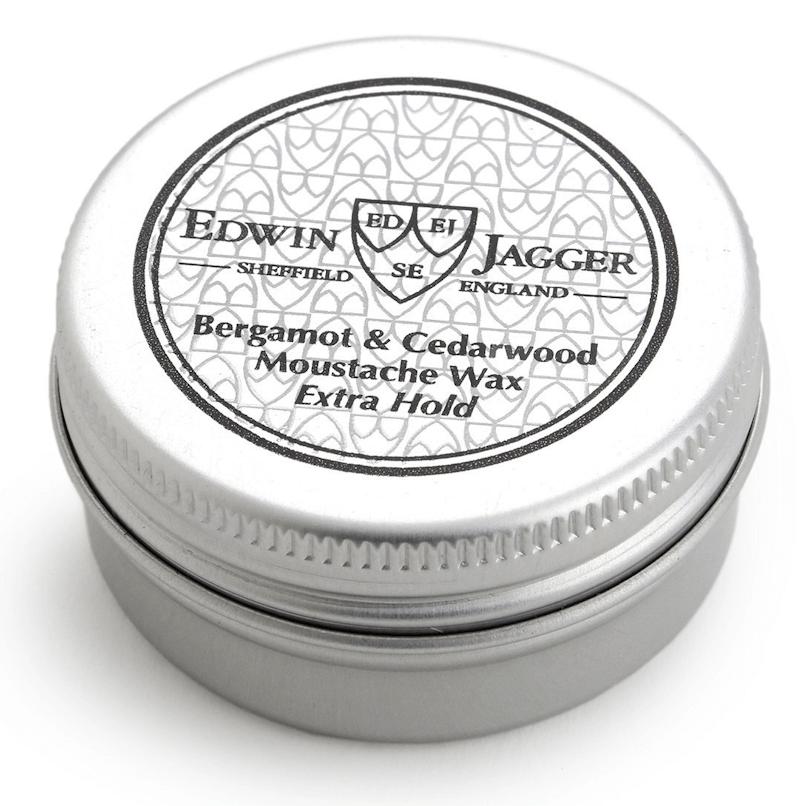 Edwin Jagger Moustache Wax Bergamot & Cedarwood E.Hold 15ml