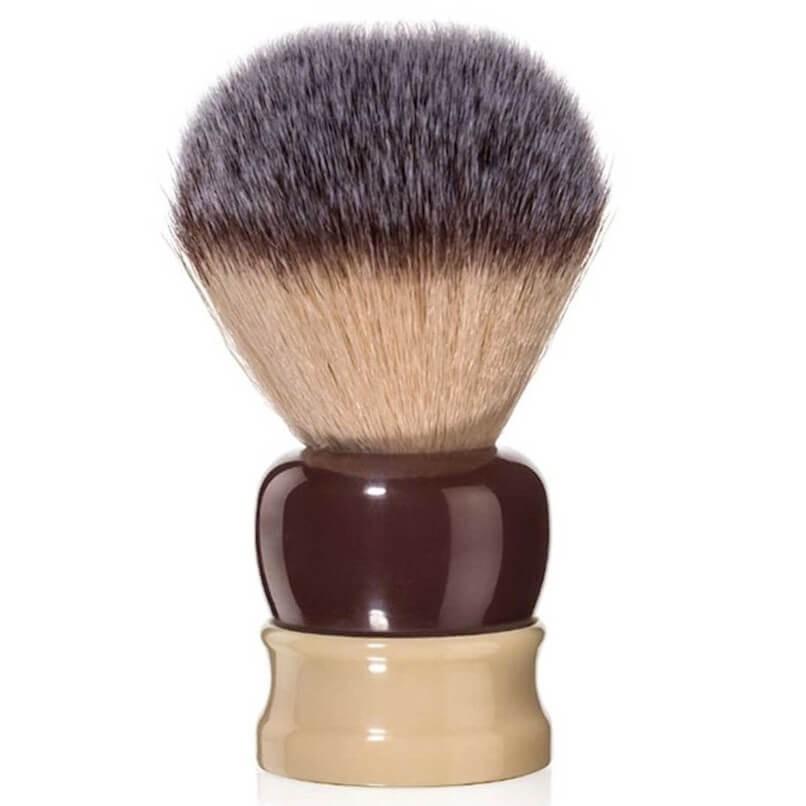 Fine Angel Hair Brush 'Stout' 24mm Ivory/Crimson