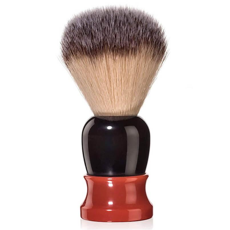 Fine Classic Angel Hair Fiber Shave Brush Orange/Brown