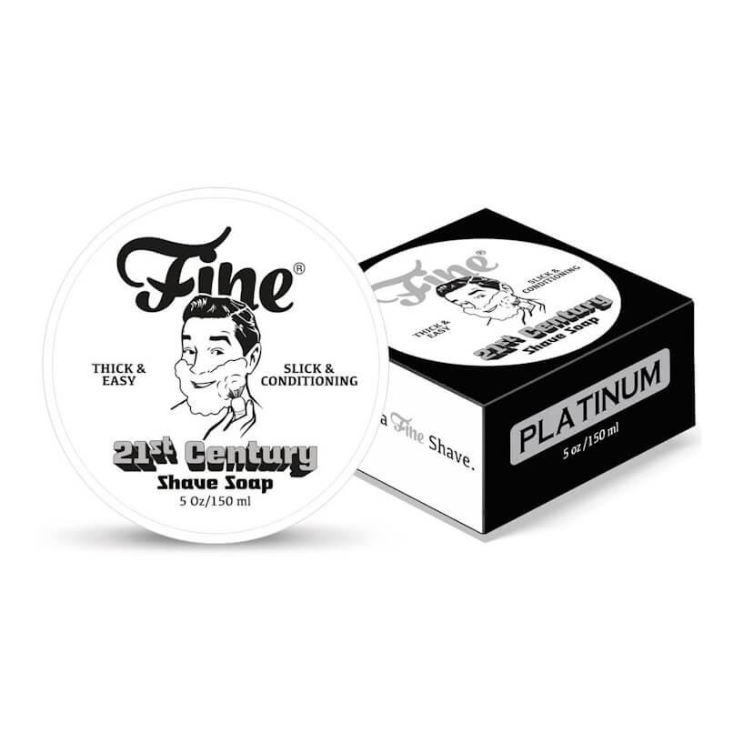 Fine Shaving Soap Platinum 150ml