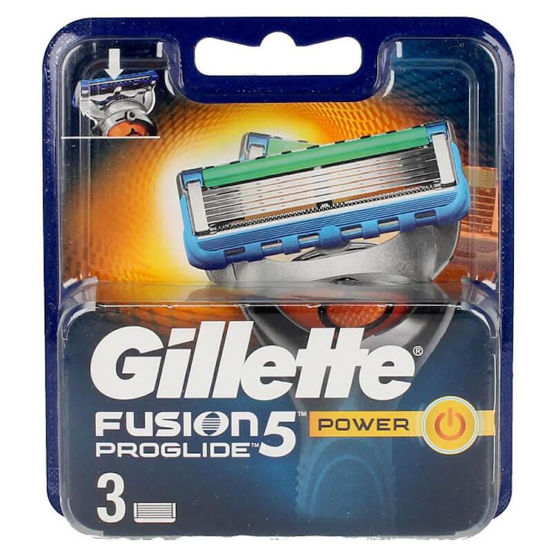 Gillette Fusion5 Proglide Power 3 Recargas