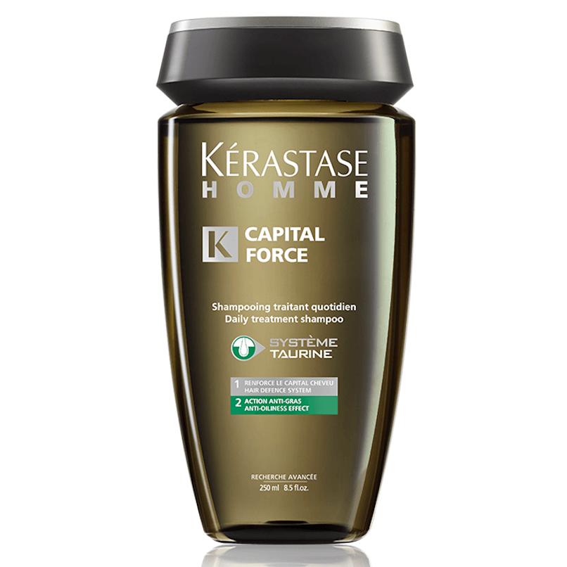 Kérastase Homme Capital Force Anti Gras Shampoo Anti-oleosidade 250ml