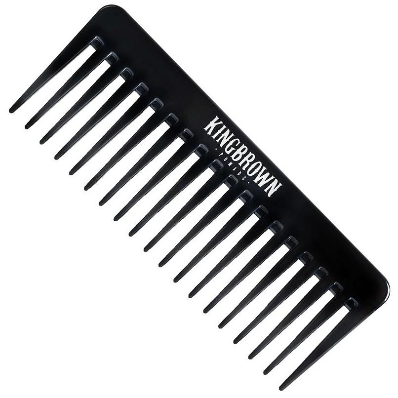 King Brown Black Texture Comb