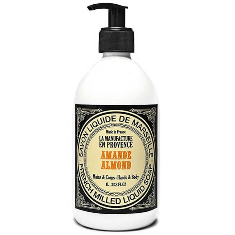 La Manufacture en Provence Liquid Soap 1000ml Almond