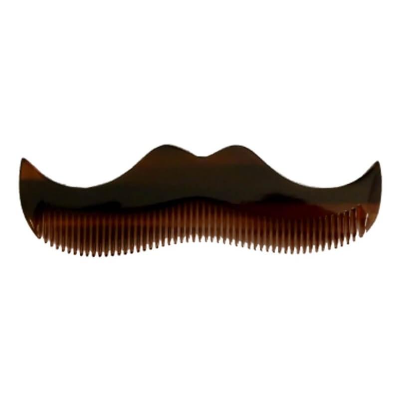 Morgans Moustache Comb Amber