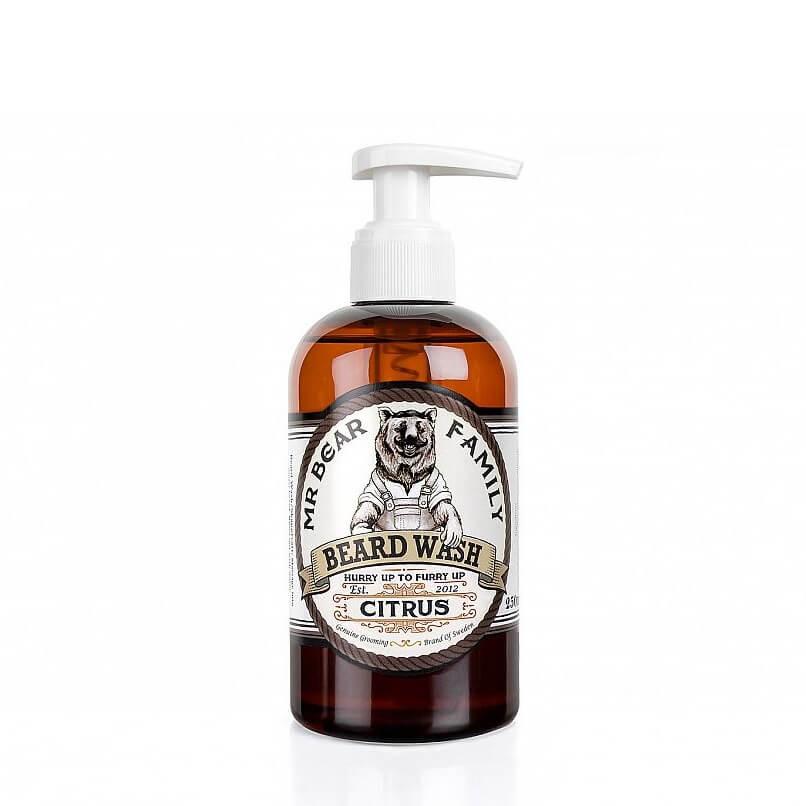 Mr Bear Family Beard Wash Citrus 250ml