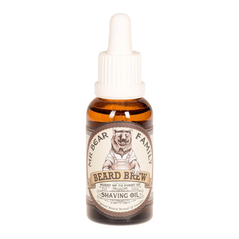 Mr Bear Family Shaving Oil 30ml