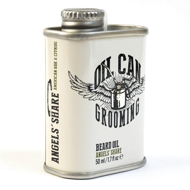 Oil Can Grooming Angels Share Beard Oil 50ml