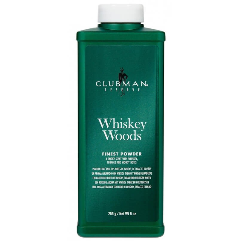 Pó Talco Reserva Whisky Amadeirado Clubman Pinaud 255gr