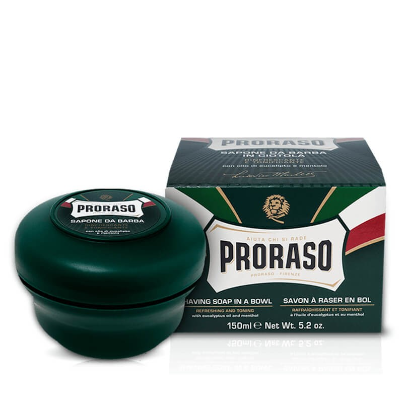 Proraso Green Shaving Soap in a Jar 150ml
