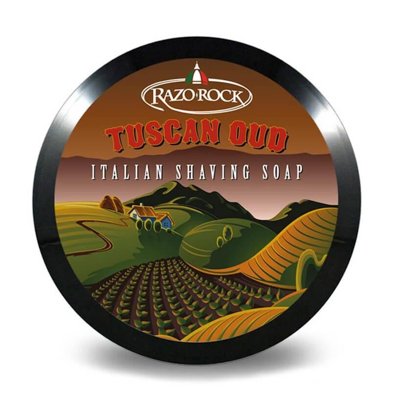 RazoRock Tuscan Oud Shaving Soap 150ml