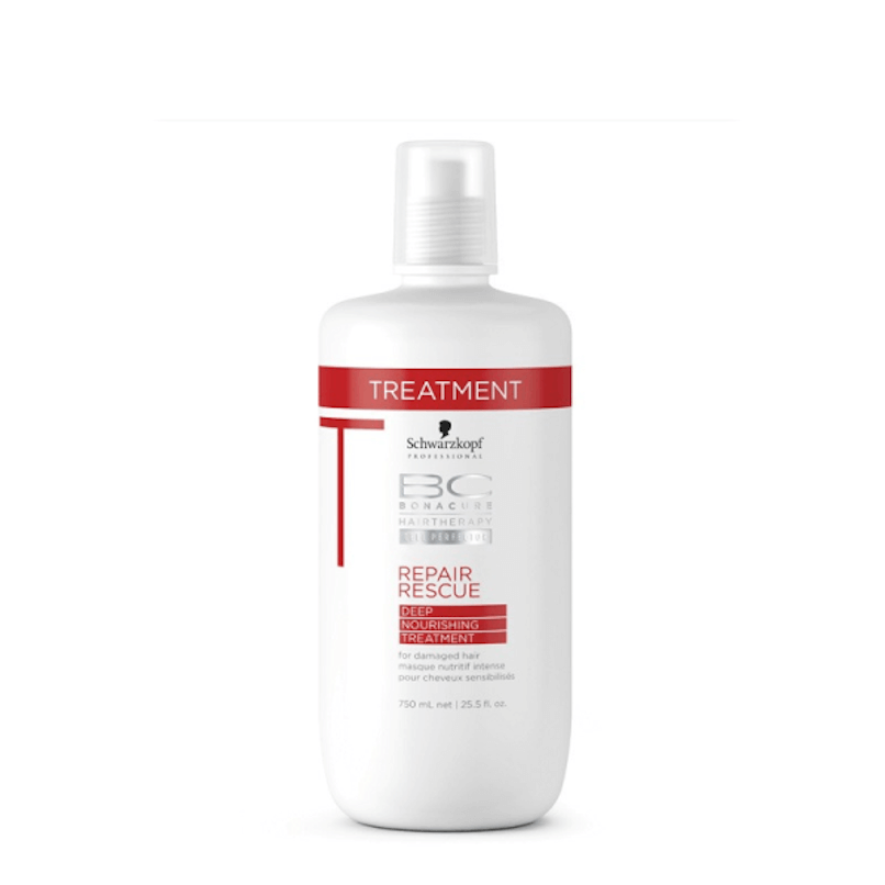 Schwarzkopf BC Repair Rescue Deep Máscara de Nutrição Intensiva 750ml