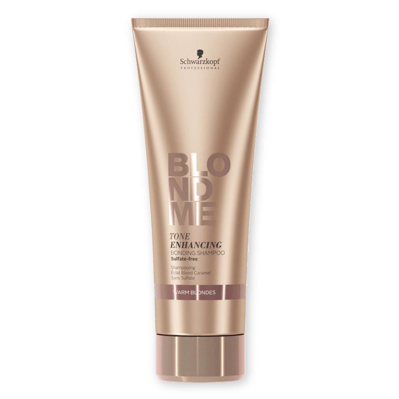 Schwarzkopf Blondme Shampoo Louros Quentes 250ml