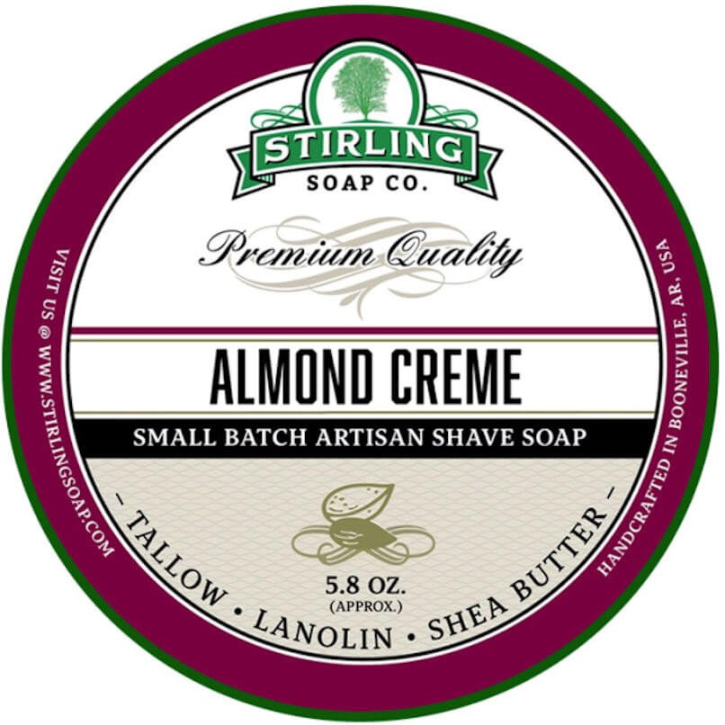 Stirling Shaving Soap Almond Creme 170ml