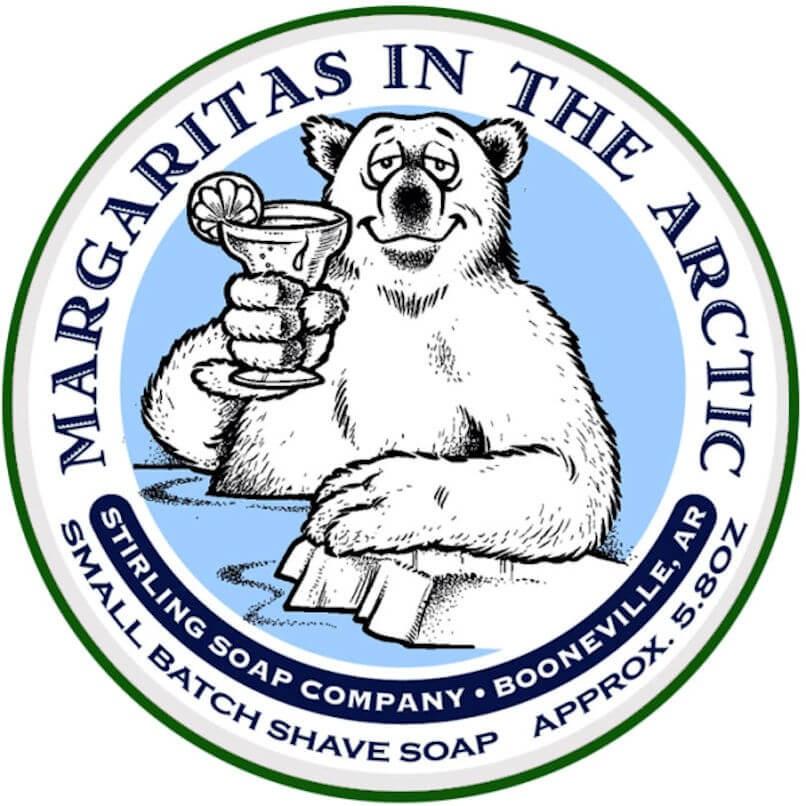Stirling Shaving Soap Margaritas in the Arctic 170ml