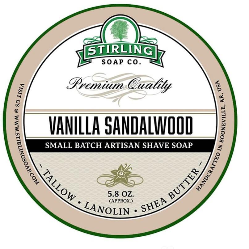 Stirling Shaving Soap Vanilla Sandalwood 170ml