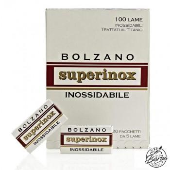 100X - Bolzano Superinox Double Edge Razor Blades
