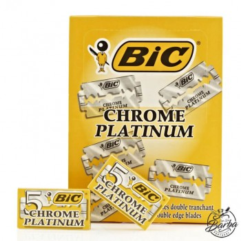100X Lâminas BIC Chrome Platinum