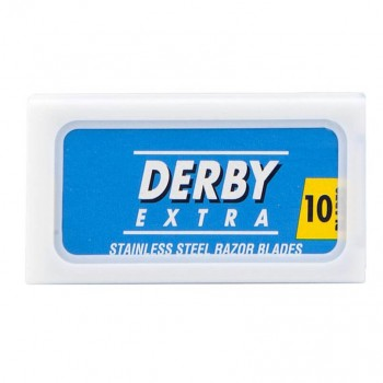 10X Derby Extra Super Stainless Razor Blades (Blue)