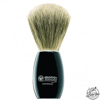 Dovo Shaving Brush Super Badger Black (918 052)
