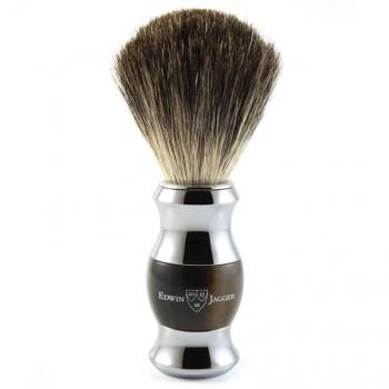 Edwin Jagger Horn & Chrome Pure Badger 81SB352CR