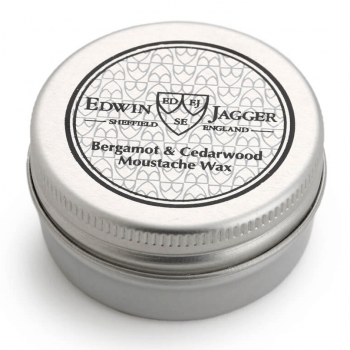 Edwin Jagger Moustache Wax Bergamot & Cedarwood 15ml