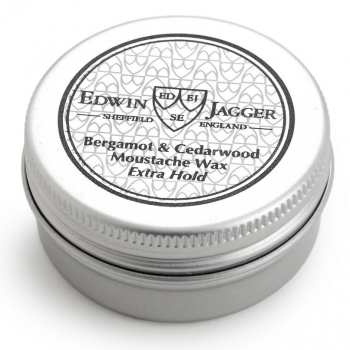 Edwin Jagger Moustache Wax Bergamot & Cedarwood E.Hold 15ml