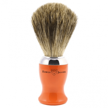 Edwin Jagger Orange Pure Badger 81SB710CR