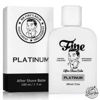 Fine Platinum Aftershave Balm 100ml