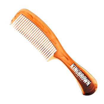 King Brown Tortoise Handle Comb