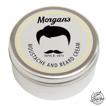 Morgans Moustache and Beard Cream 250ml