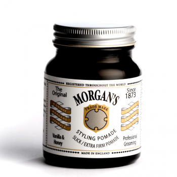 Morgans Vanilla & Honey Extra Firm Hold Pomade 100ml
