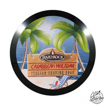 RazoRock Caribbean Holiday Shaving Soap 150ml