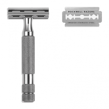 Rockwell 2C Double Edge Safety Razor Gunmetal