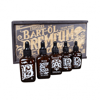 Schmiere Set Beard Oil 5 aromas 5x50ml