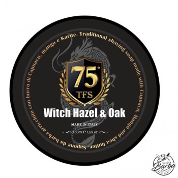 Tcheon Fung Sing 75 anniversary Shaving Soap 150ml Witch Hazel & Oak